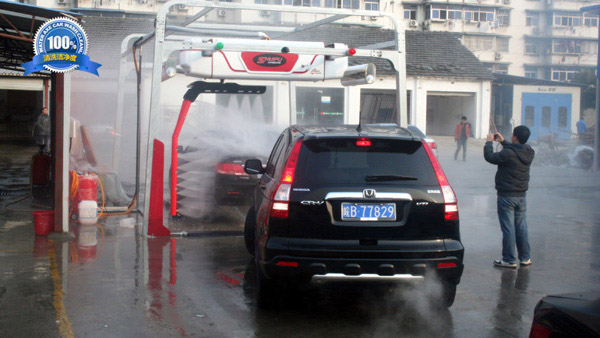 水斧全自动洗车机